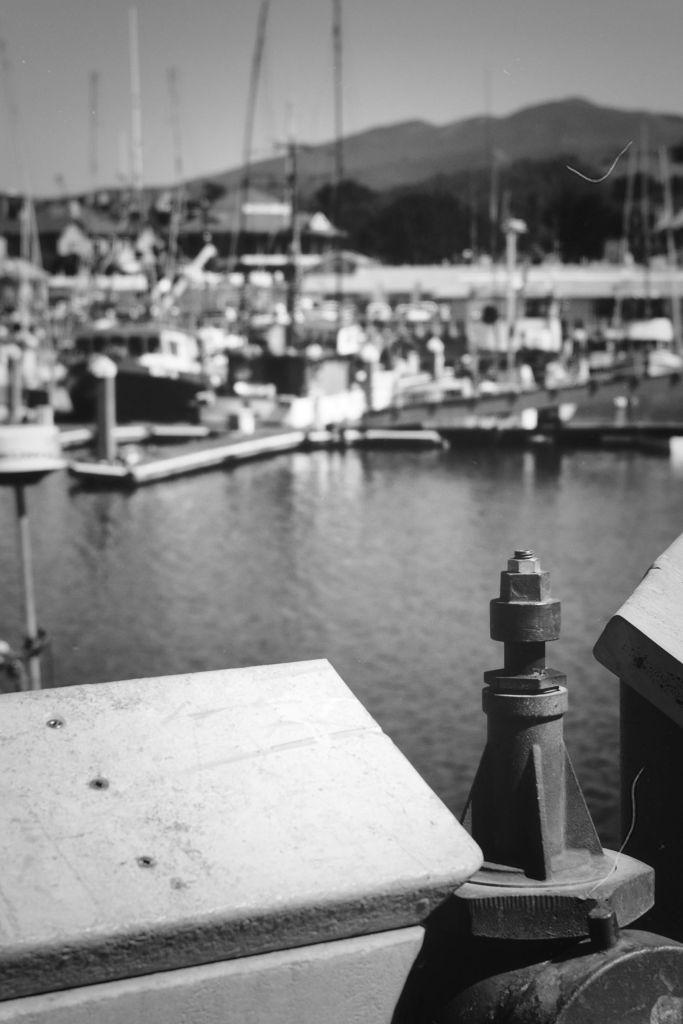 View off a pier